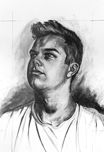 A Young Man by artist Richard Tomlin
