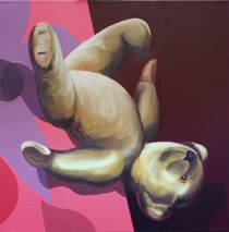 Falling Teddy by Richard Tomlin